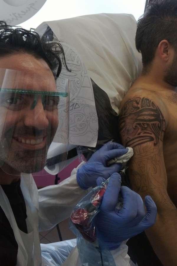 """alt=""""Andrea Tartari tatuatore di Cento Ferrara ,stile privilegiato realistico"""""""
